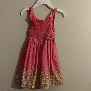 Pretty pink summer dress